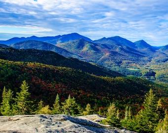 Autumn Landscape, Adirondack Photograph, Nature Photography, Landscape Art, Adirondack Mountain Photo, Nature Print, Keene Valley Photo