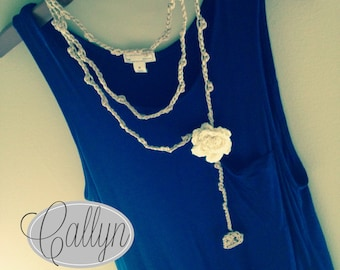 Callyn Necklace (Crochet Pattern)
