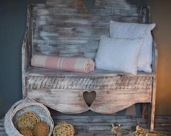Handmade Rustic Bench/Pew/Settle