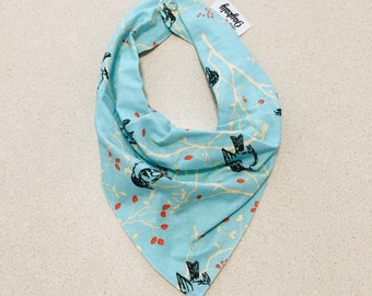 Baby/Toddler Bandana Bib—Blue Bird—One size