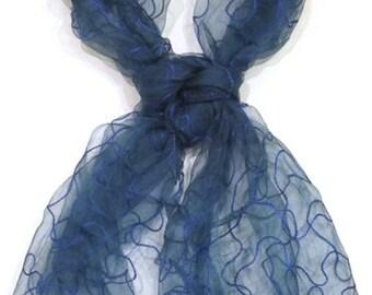Silk Organza Scarf