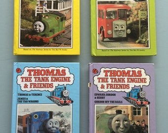 Retro (1980's) Thomas the tank engine ladybird books