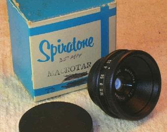 Spiratone 35mm f3.5 Macrotar micro/macro/bellows lens & fantastic enlarging lens