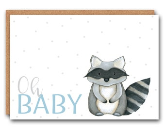 New Baby Card - Oh Baby