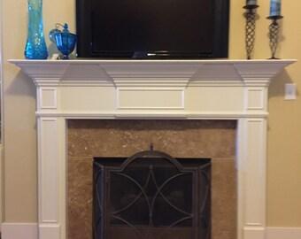 Fireplace Mantel. Unfinished