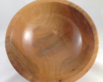 Pecan Bowl hand-turned