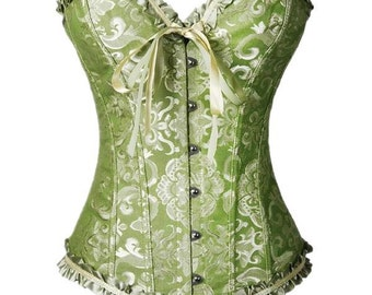 Ribbon and Lace Fancy Corset
