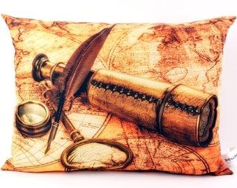 "Decorative pillows ""Maritim"" fill pillows decorative pillows neck cushion pillow"