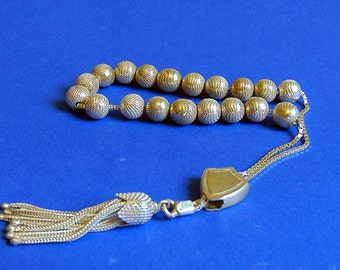 Vintage Sterling Silver Worry / Prayer Beads / Greek Komboloi – Stamped 925 – Made in Greece