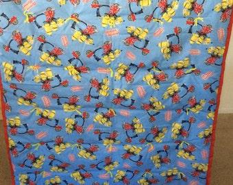 British Minions Mania Blanket