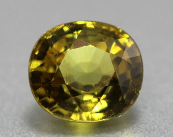 Gorgeous Natural Yellowish Green Mali Garnet