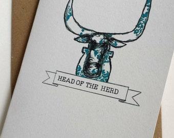 Head of the Herd Card