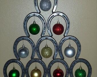 Horse Shoe Christmas Trees