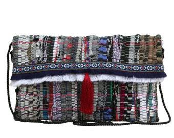 Kourelou bag in boho style with fringes