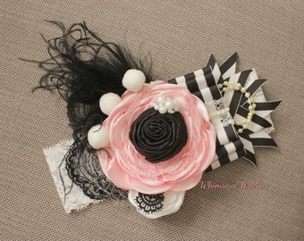 Amore Pink & Stripe M2M scb mj sh Persnickety Boutique