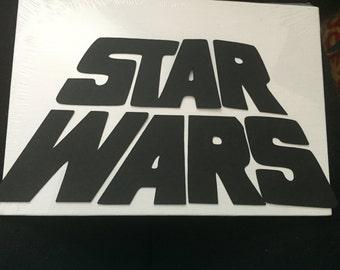 6 Star Wars Die Cut Embellishments