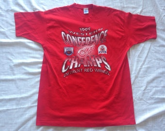 Detroit Red Wings vintage 1995 shirt