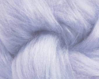 Tussah Silk Top One Ounce Color Twilight For Felting or Spinning