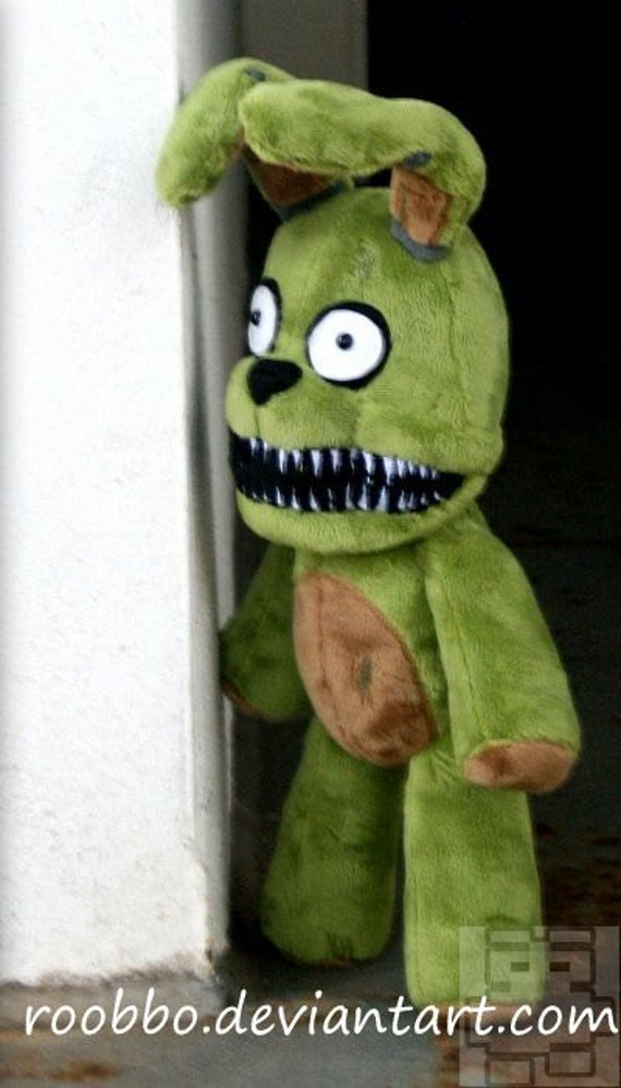 Five Nights At Freddy S Plushtrap Plush By Roobbo On Etsy