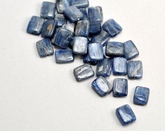 Kyanite, Rectangle Beads, 10mmx7mm, 5pk