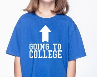 Going to College Kids Shirt, Youth or Toddler