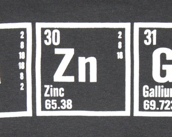 BAZINGA Hoodie - Big Bang Theory - Periodic Table