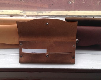 Clutch Wallet Leather