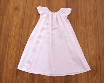 Long White Baby Girl Baptism Dress Baptism Gown Robe Flower Girl Dress Christening Dress Baby Antique White Christening Gown Naming Ceremony