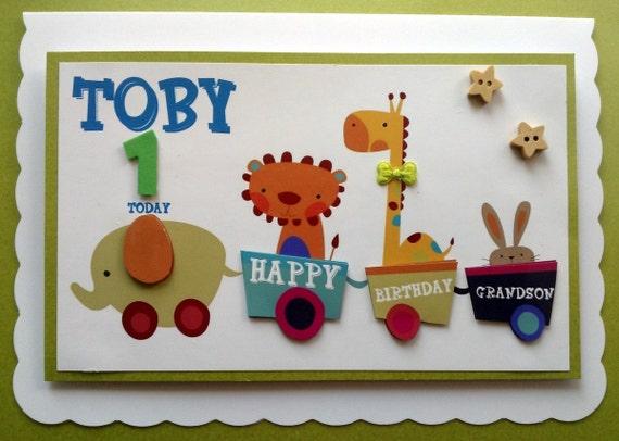 Personalised Grandson Birthday Cards Choice Image Free Birthday