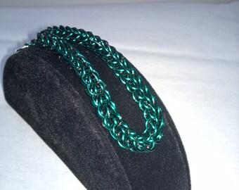 Full Persian/Foxtail Bracelet - Aqua