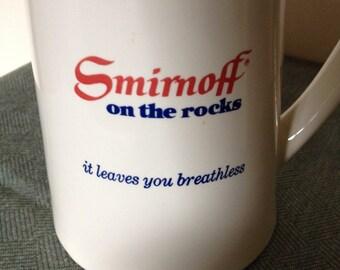 Smirnoff Vodka Advertising Pitcher