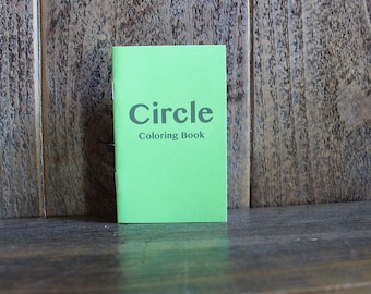 Circle Coloring Book