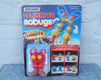 1985 Matchbox Linkits bad red Robug