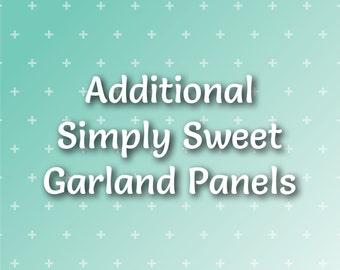 Additional Simply Sweet Banner Panels