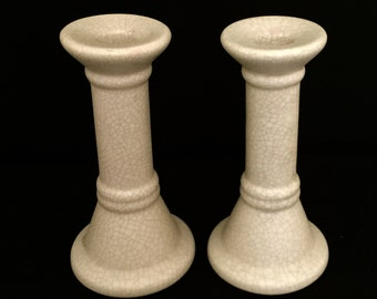 Set of 2 Ceramic Candle Sticks                 VG2023