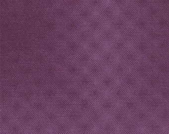 Puzzle Pieces  Prisms (1002-19) Purple - Moda Basic Quilting Fabric by the 1/2 yard