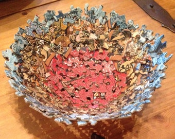 Jigsaw Puzzle Bowl.