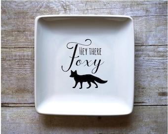 Hey There Foxy - Jewelry Dish
