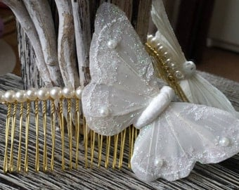 White Butterfly Comb