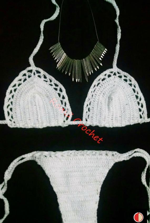 Uncinetto bikini costume da bagno uncinetto bikini - Costume da bagno brasiliano ...