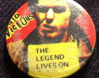 Vintage Sid Vicious Badge