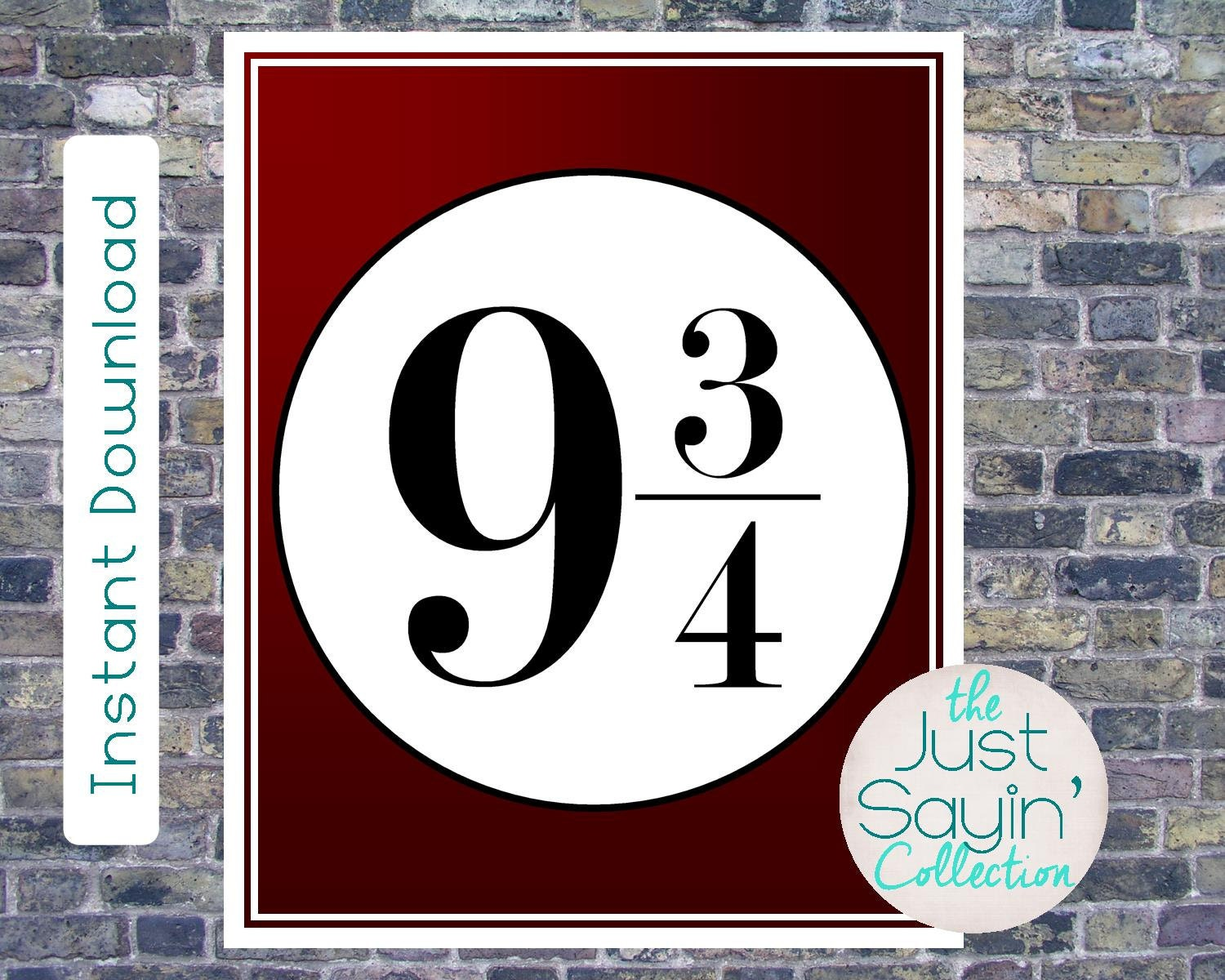 photo about Platform 9 3 4 Sign Printable identify System 9 34 indication Lots of totally free printables for a Harry
