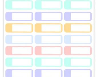 Pastel Labels