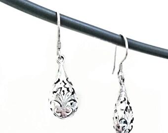 Ambha 925 Sterling Silver Earrings