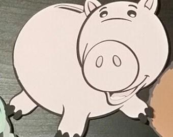 Ham cut out