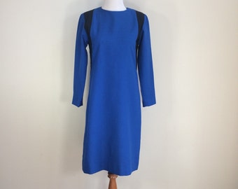 Curvy Mad Men Cobalt Dress