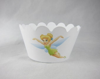 Set of  Tinker Bell  cupcake wrappers