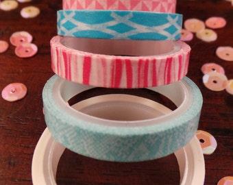 Thin washi tape - set of 7