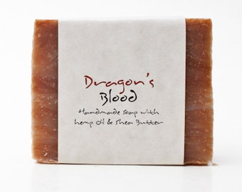Dragon's Blood Natural Soap Bar, Sale, Clearance