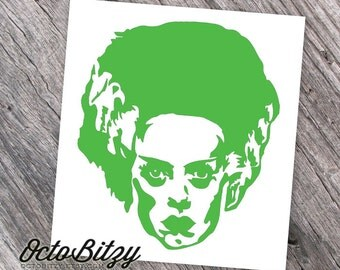 Bride of Frankenstein Decal Sticker